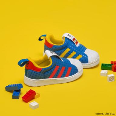 Scarpe adidas Superstar 360 x LEGO® Blu Bambini Originals