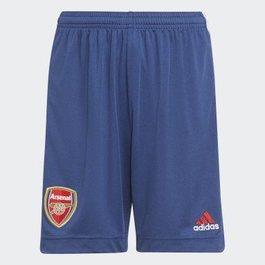 Kinderen Voetbal blauw Arsenal 21/22 Derde Short