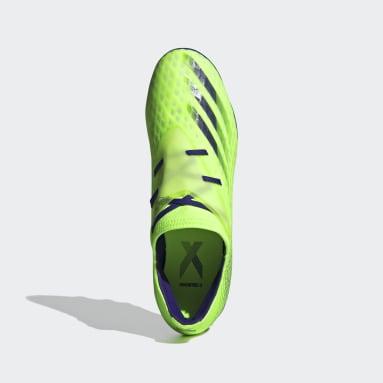 Zapatos de fútbol X Ghosted.2 Multiterreno Verde Hombre Fútbol