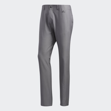 Men Golf Grey Ultimate365 3-Stripes Tapered Trousers