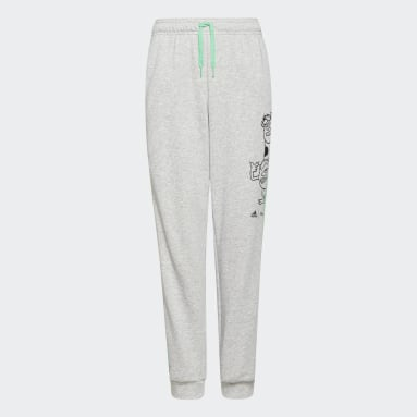 Boys Lifestyle Grey adidas x Disney Pixar Monsters, Inc. Pants
