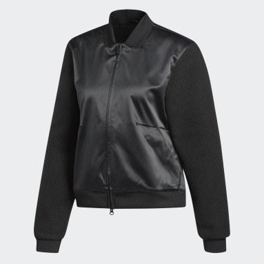 Women's Sportswear Black ID Sherpa Bomber Jacket