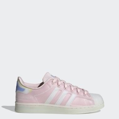 Women Originals Pink Superstar Futureshell Shoes