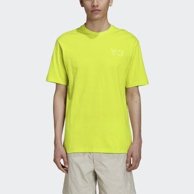 Mænd Y-3 Gul Y-3 CL Logo T-shirt
