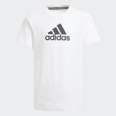 белый Футболка Logo