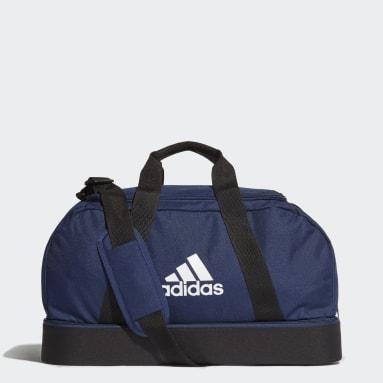 Fotbal modrá Taška Tiro Primegreen Bottom Compartment Duffel Small