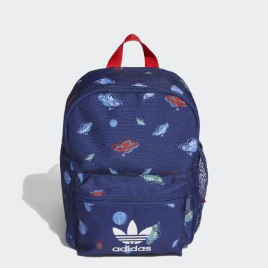 Kids Originals Blue Trefoil Universe Backpack
