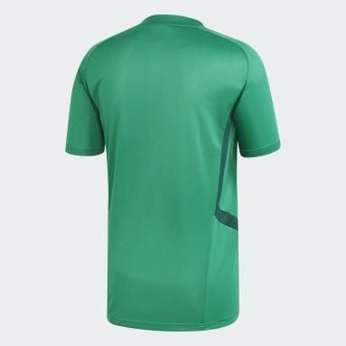 Men Gym & Training Green Tiro 19 Training Jersey