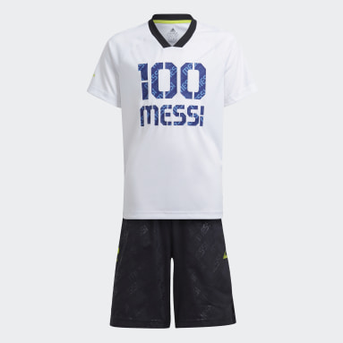 белый Комплект: футболка и шорты Messi Summer
