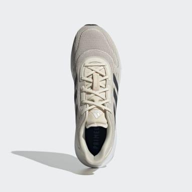 Men Running Beige Galaxar Run Shoes