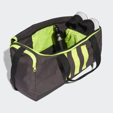 Volleyball Grey Essentials 3-Stripes Duffel Bag Medium