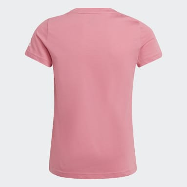 Camiseta Graphic Rosa Niña Sportswear