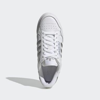Women's Originals White Continental 80 Stripes Shoes