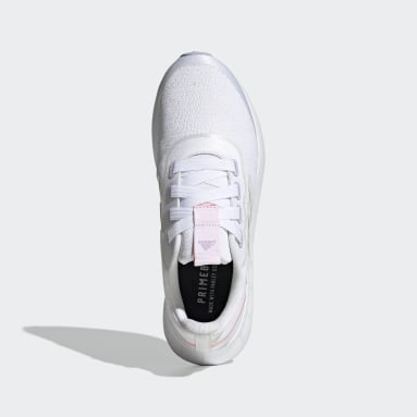 Women Running White QT Racer Sport Shoes