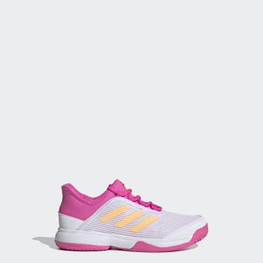 Children Tennis White Adizero Club Tennis Shoes