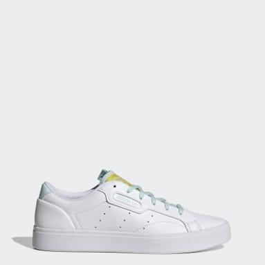 ผู้หญิง Originals สีขาว รองเท้า adidas Sleek