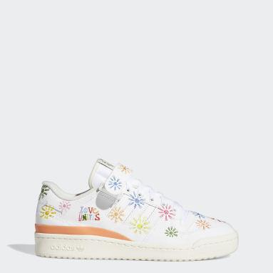 Men Originals White Forum Low Pride Shoes