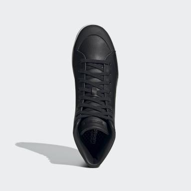 Men Walking Black Bravada Mid LTS Shoes
