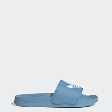 Ciabatte adilette Lite Blu Donna Originals