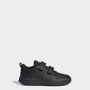 Children Running Black Tensaurus Shoes