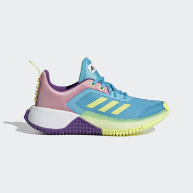 Children Running Turquoise adidas x LEGO® Sport Shoes