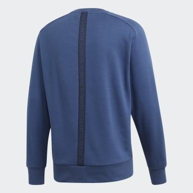 Men Football Blue FC Bayern Seasonal Special Sweatshirt