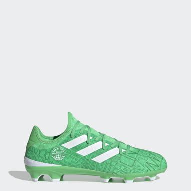 Scarpe da calcio Gamemode Knit Firm-Ground Verde Calcio
