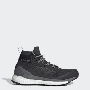 Women's TERREX Grey Terrex Free Hiker Hiking Shoes