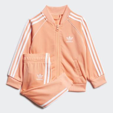 Kids Originals Orange SST Track Suit
