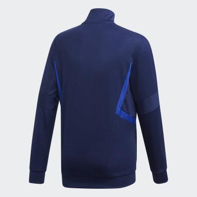 Youth Soccer Blue Tiro 19 Training Jacket
