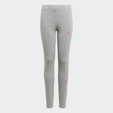 Girls Lifestyle Grey adidas Essentials Tights