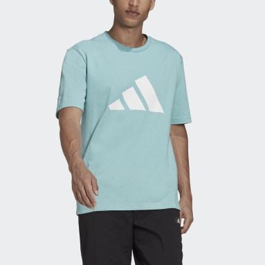 Camiseta adidas Sportswear Future Icons Logo Graphic Verde Hombre Sportswear