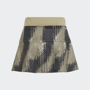 Youth Tennis Green Tennis Match Primeblue Skirt