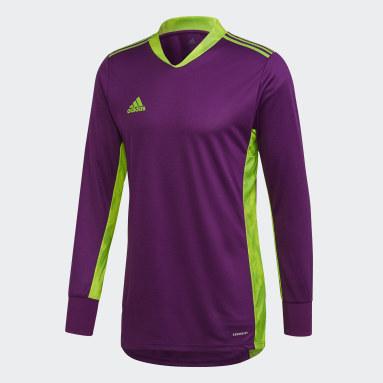 Camiseta portero Adipro 20 Violeta Hombre Fútbol