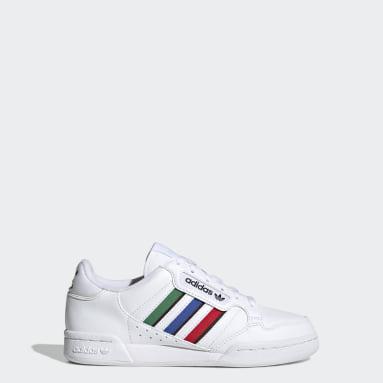 Παιδιά Originals Λευκό Continental 80 Stripes Shoes