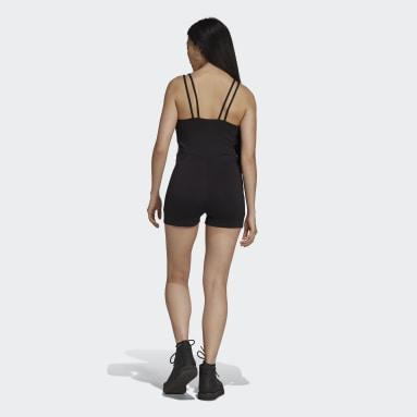 ผู้หญิง Originals สีดำ ชุดเพลย์สูท Adicolor Classics