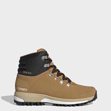 TERREX Brown Terrex Pathmaker RAIN.RDY Hiking Shoes