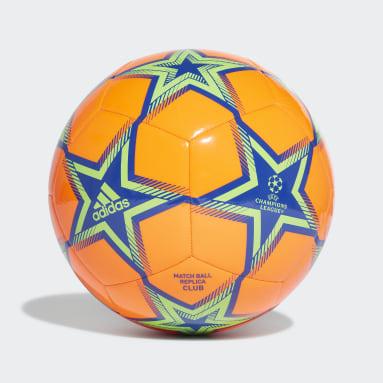 Ballon UCL Club Pyrostorm Orange Soccer