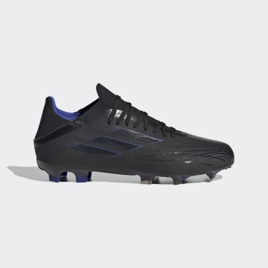 เด็ก ฟุตบอล สีดำ รองเท้าฟุตบอล X Speedflow.1 Firm Ground