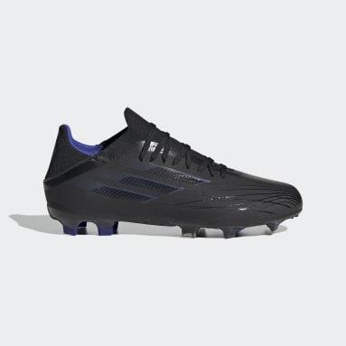 Kids Football Black X Speedflow.1 Firm Ground Boots