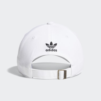 Women's Originals White Relaxed Outline Hat