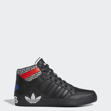 Dam Originals Svart Hardcourt Hi Shoes