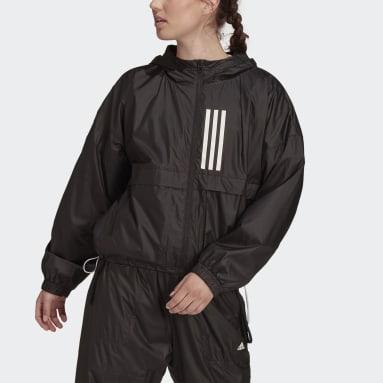 Chaqueta adidas Sportswear WIND.RDY Woven Negro Mujer Sportswear