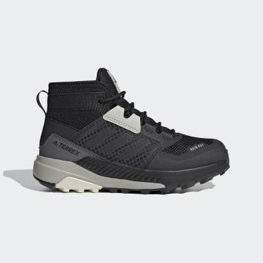 Kids TERREX Black Terrex Trailmaker Mid RAIN.RDY Hiking Shoes