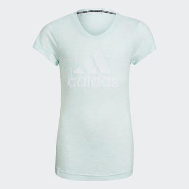 Camiseta Must Haves Turquesa Niña Gimnasio Y Entrenamiento