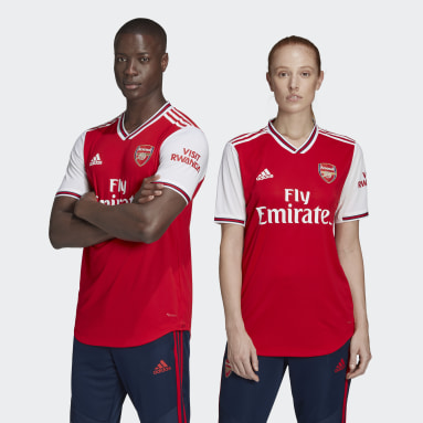 Männer Fußball FC Arsenal Heimtrikot Authentic Rot