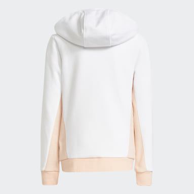 Sweat-shirt Graphic Print Blanc Filles Originals
