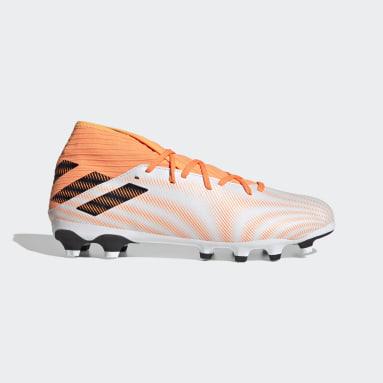Football White Nemeziz.3 Multi-Ground Boots