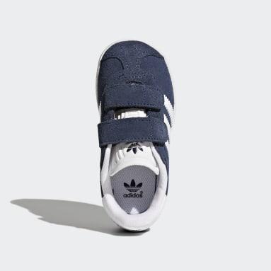 Jongens Originals Blauw Gazelle Schoenen