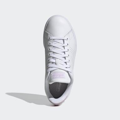 Dames Tennis Wit Advantage Schoenen